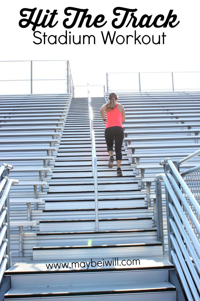 Hit The Track – Stadium Workout