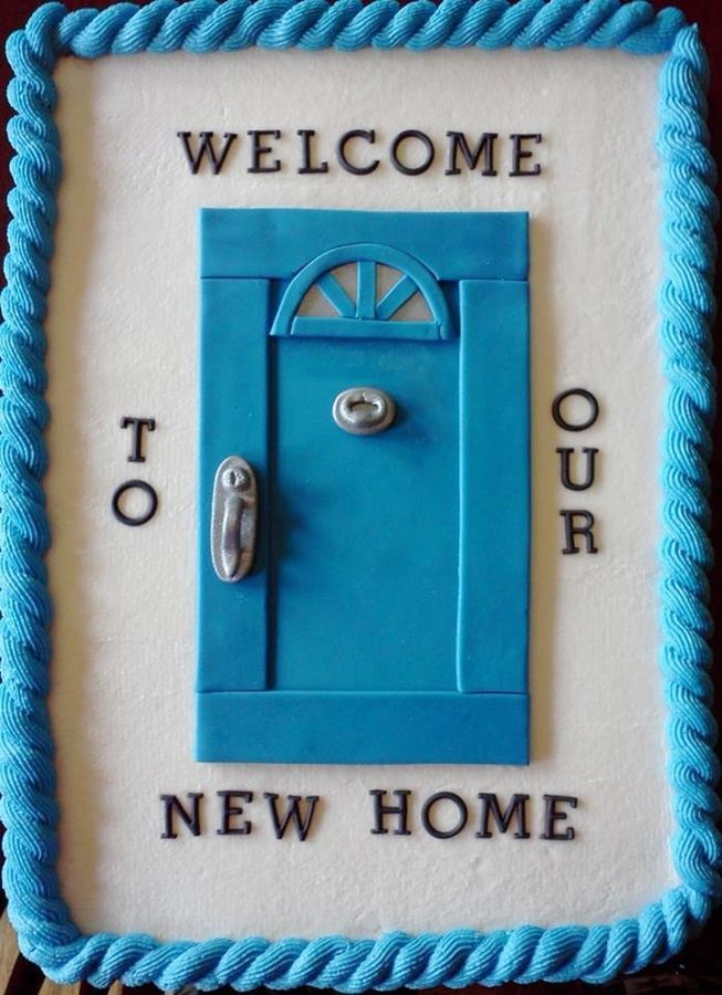 New Home Cake — Blue                                                                                                                                                                                 More