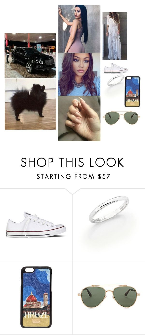 """""""Rudolph The Red-Nosed Reindeer"""" by paukar ❤ liked on Polyvore featuring Converse, De Beers, Dolce&Gabbana and Givenchy"""