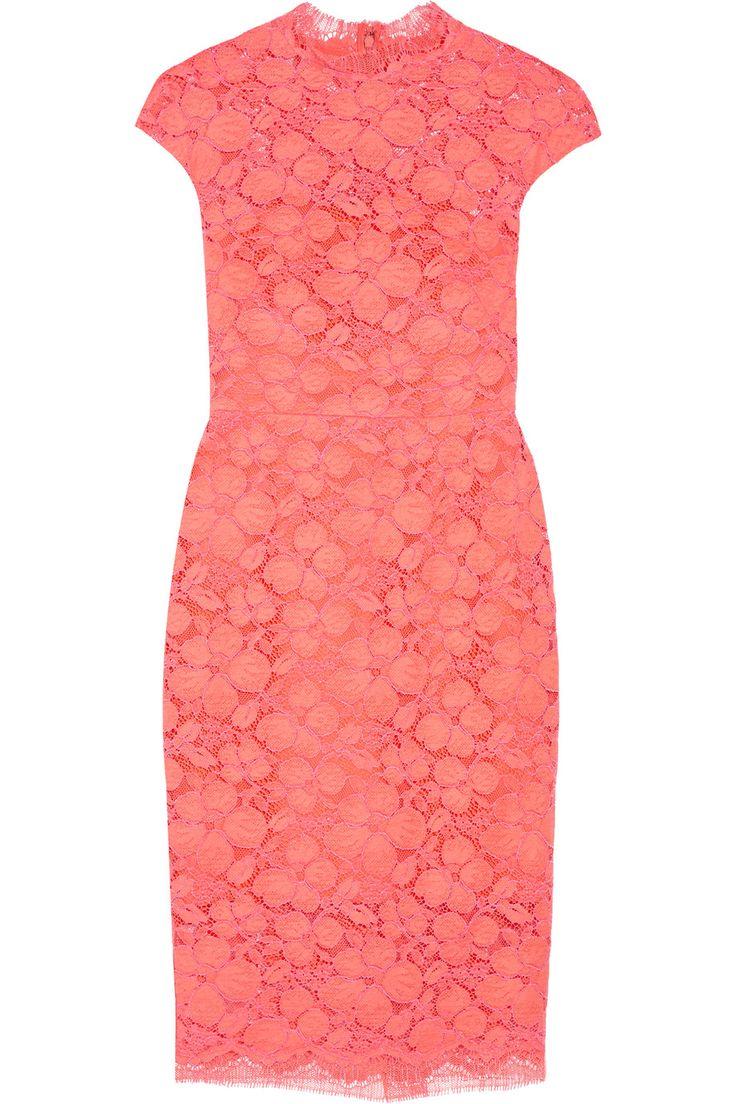 LELA ROSE Corded lace dress. #lelarose #cloth #dress