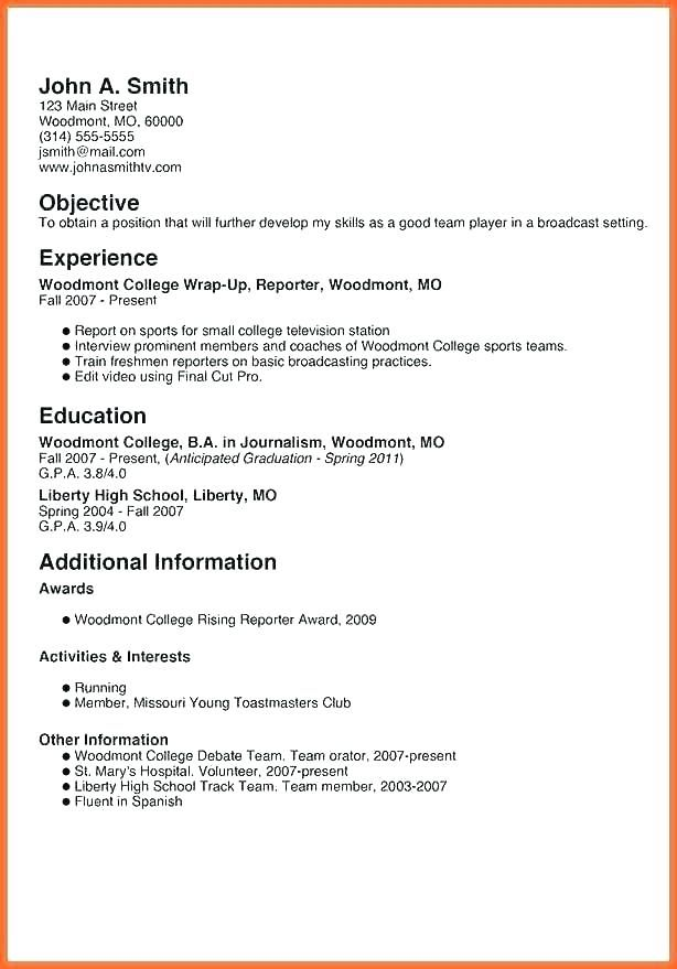 Resume Template For Teenagers Skinalluremedspa Student Resume Template Resume Templates Unique Resume Template