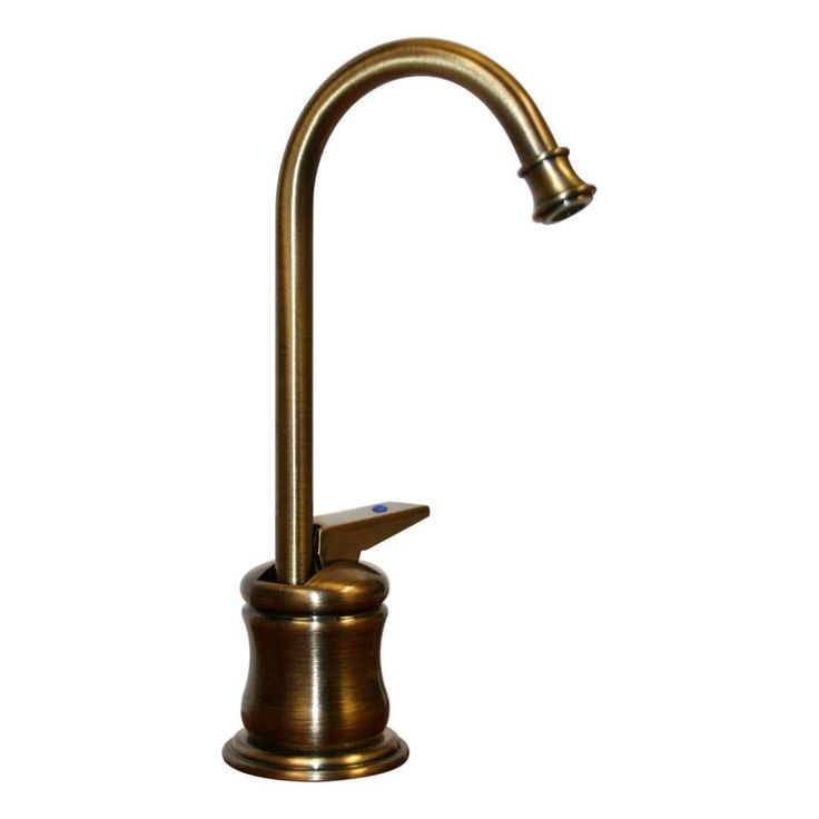 Forever Hot One Handle Single Hole Hot Water Dispenser Faucet With Gooseneck Spout