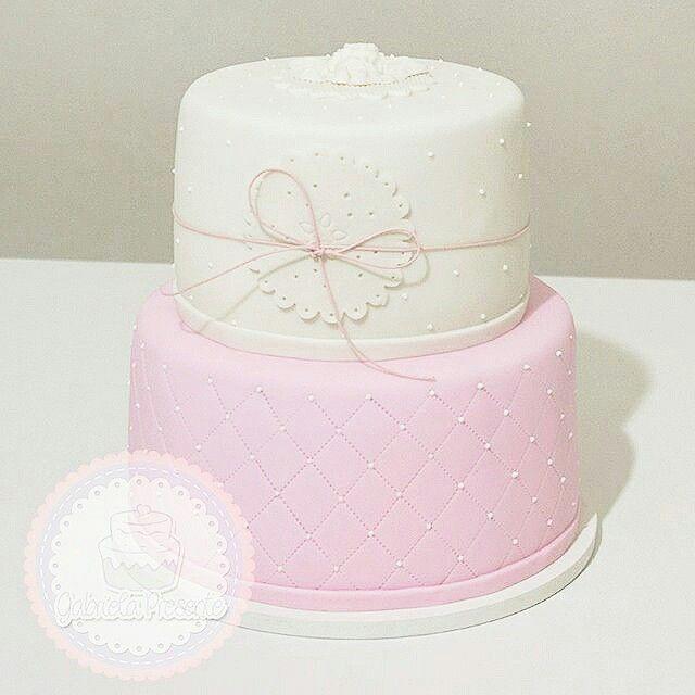 Baptism Cake   Atelie Gabriela Presente