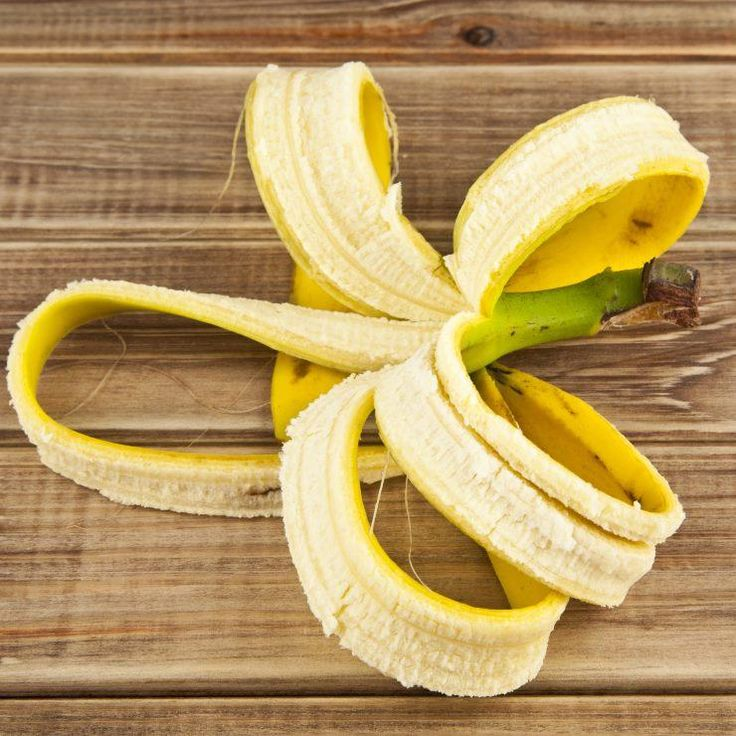 Banana peel for whiter teeth: once a week, rub inside of peel on teeth for 2 minutes then brush