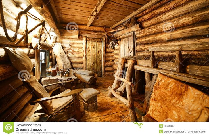 Interior Of Russian Wooden Sauna Royalty Free Stock Photography - Image: 35679817