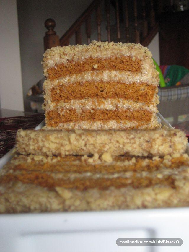 """Torta sa mljevenim zitom i pivom, posna torta puna ukusa, a najvise vitamina """"B"""" :-) socna, mekana, interesantna, sa ne puno sastojaka!"""