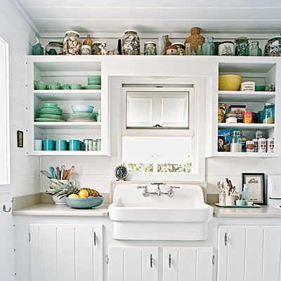 9 genius kitchen storage ideas beach house - Beach House Kitchen Ideas