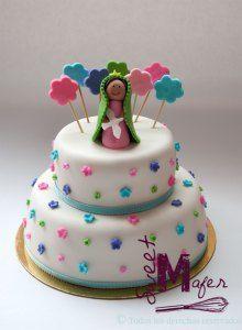 torta-virgen-primera-comunion