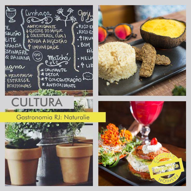 Nova opção para os que apreciam uma culinária saudável é o Naturalie Bistrô em Botafogo, no Rio. A Chef Nathalie Passos, que estudou no Health&Culinary Arts em Nova York, prioriza os ingredientes orgânicos e acaba mudando o cardápio sempre por gostar de usar produtos sazonais. Os veganos podem comemorar! Pois o Naturalie serve a feijoada veggie e também o saboroso brownie vegan. #conceptfashion #concept_textil #cultura #gastronomia #rj #restaurante #naturaliebistrô…