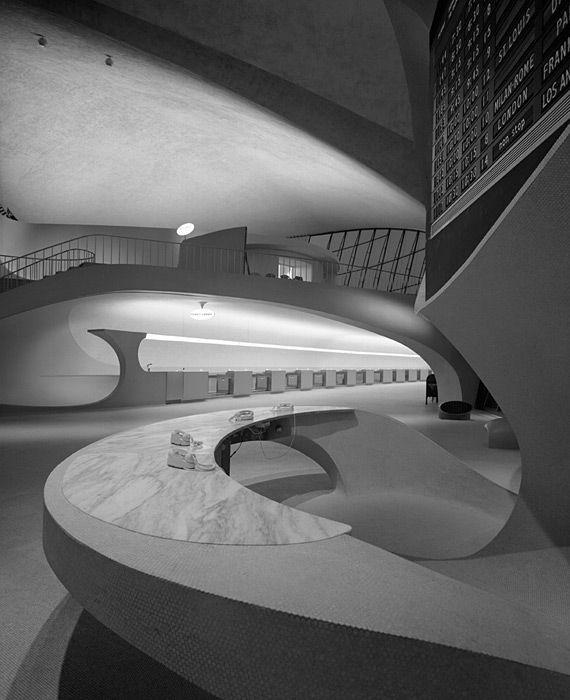 Eero Saarinen | TWA Terminal at Idlewild (now JFK) Airport | New York | 1962