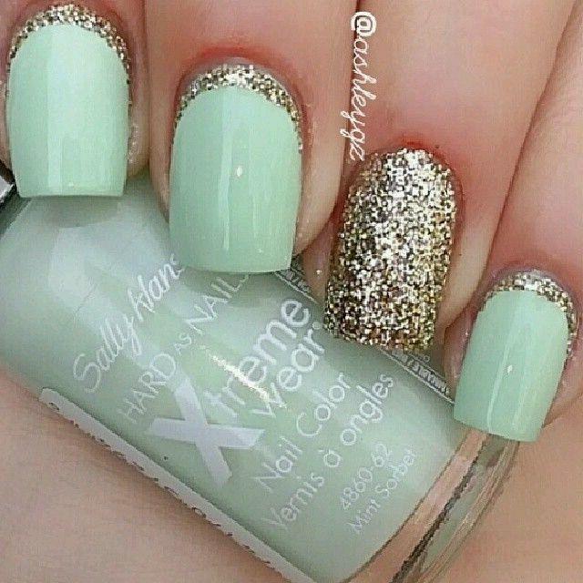 Mejores 209 imágenes de Nails en Pinterest   Uña decoradas, Uñas ...
