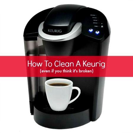 how do you descale a keurig coffee machine