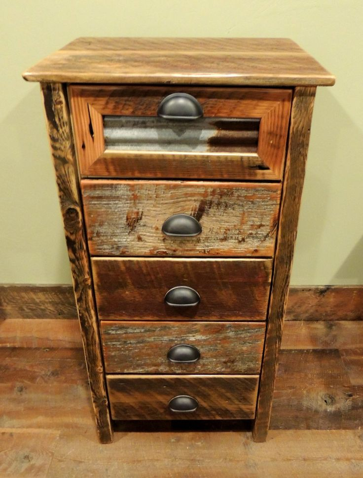 Attractive Arizona Style 5 Drawer Lingerie Chest With Tin In Top Drawer And Bronze  Pulls. Thin
