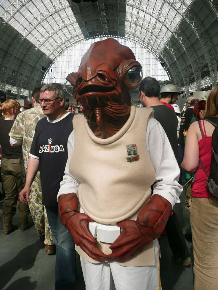 how to make admiral ackbar costume