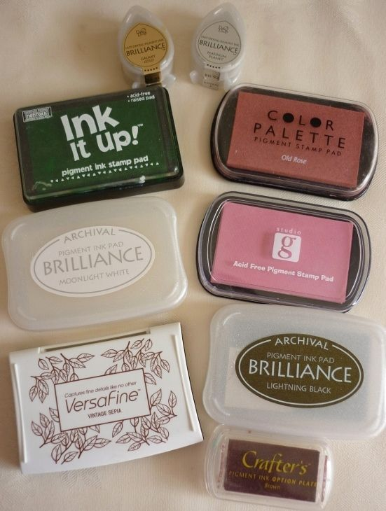 Great article on different types of inks, how they can be used, and how to store them. Stamping Tips and Techniques - Mementoes In Time