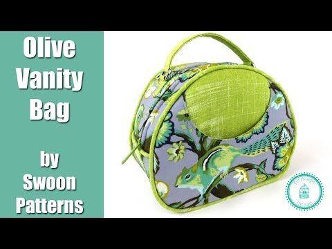 (47) Olive Vanity Bag by Swoon - Full Tutorial - YouTube