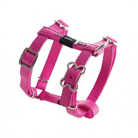 Rogz Lapz Luna Dog Harness Pink - Medium