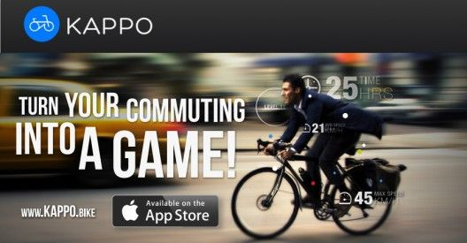 Kappo / la app chilena para promover el uso de la bicicleta / perfil de usuario de bicicleta / registro de recorridos / copeticion con otros usuarios de la app