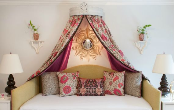 girls daybed with canopy bedroom ideas Photographer Jane Belles