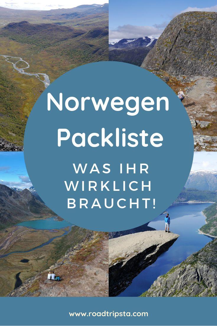 Packliste für Euren Norwegen Roadtrip – Was ihr wirklich braucht