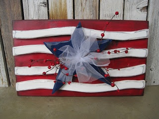 4th wooden flag