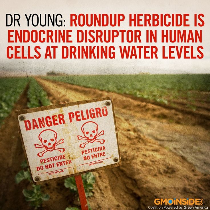 NEW STUDY: Roundup is an endocrine disruptor and is toxic to human cells in…
