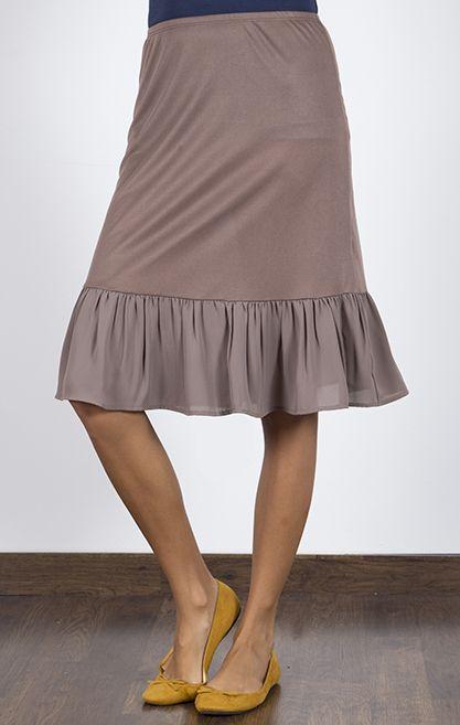skirt lengthening slip | All Day, Every Day Skirt Extender Slip