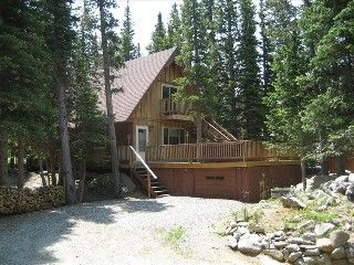 St. Marys Glacier Cabin Rental: Gorgeous Mountain Cabin With Hot Tub |  HomeAway · Idaho SpringsCabin ...