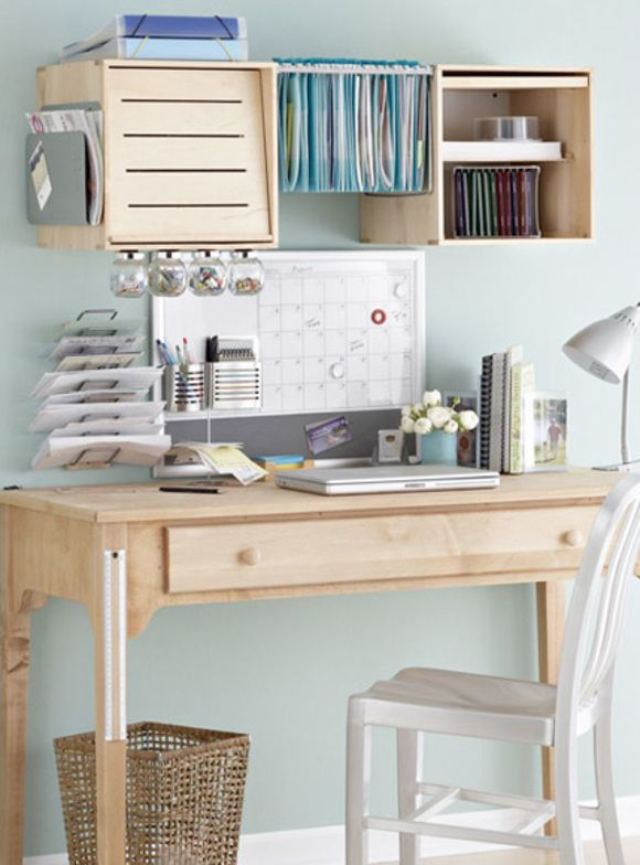116 best images about new shabby chic girl cave home - How to organize your desk at home ...