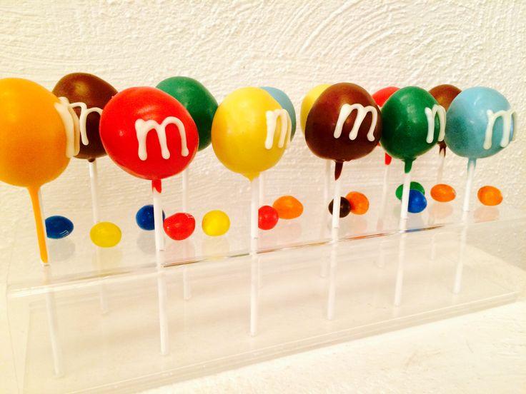M&M Cake Pop