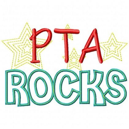 PTA Rocks, would be cute on shirts