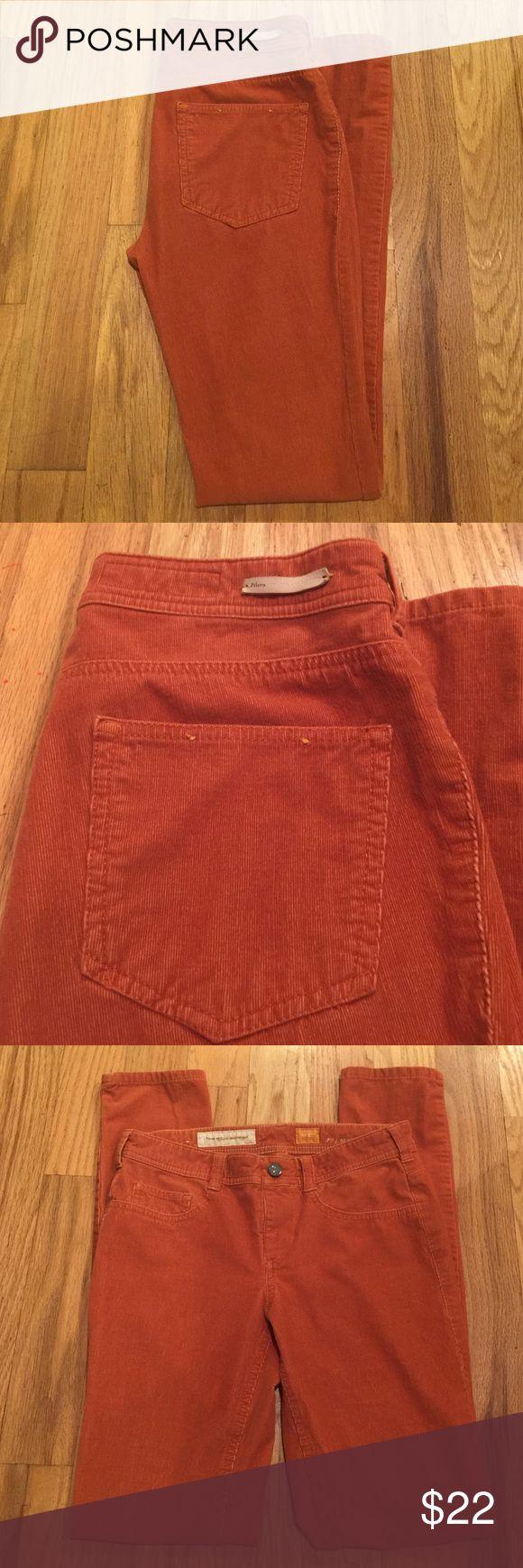 "Pilcro Corduroy Leggings Ladies Pilcro ""Serif"" cord leggings. Size 27. Inseam 30"". Cotton 97% spandex 3%. Pilcro Pants Leggings"