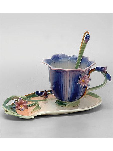 "Чайная пара ""Колокольчик"", Pavone на Маркете VSE42.RU"