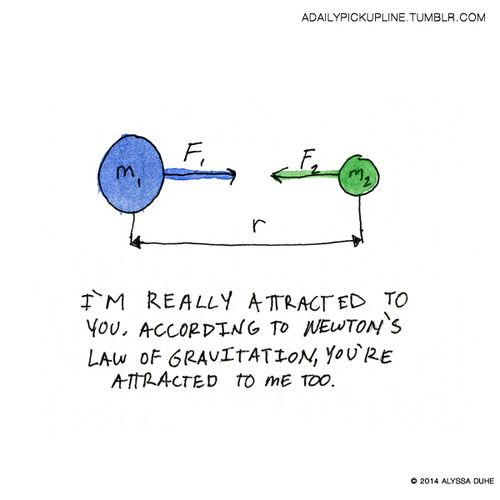 10 Funniest Science Pickup Lines Illustrated