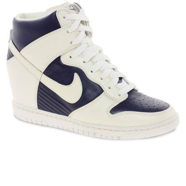 Nike Fast Love Sky High Wedge Sneakers ($147) ❤ liked on Polyvore