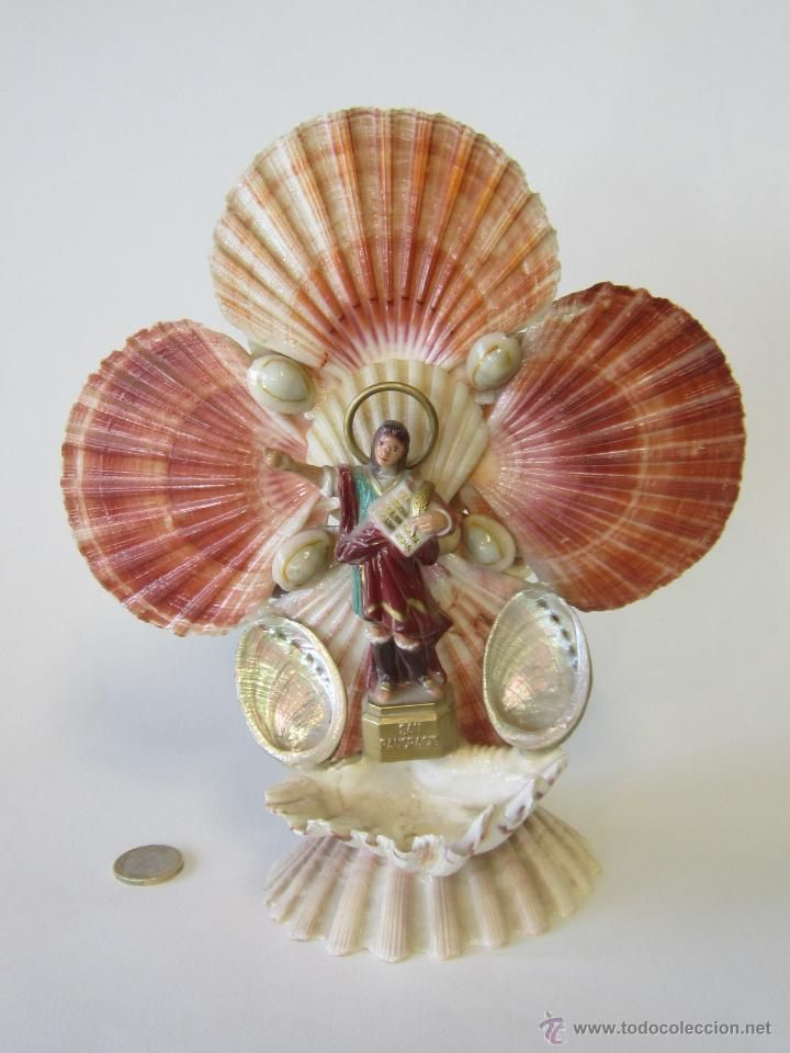 130 best images about shell craft on pinterest conch for Shell art and craft