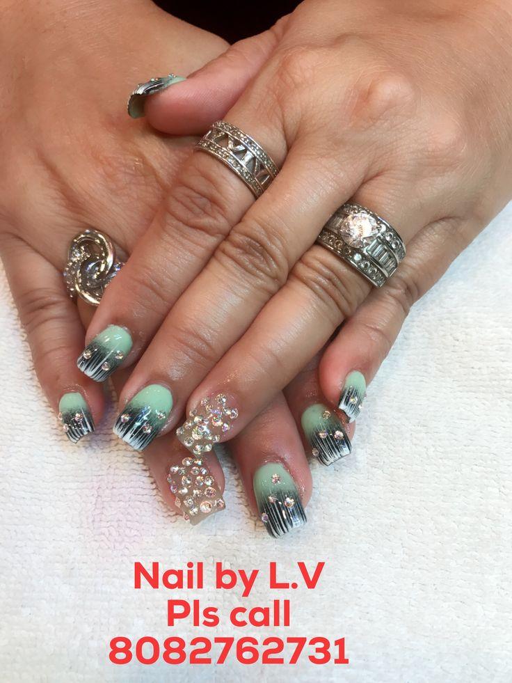 8 best L.V nails images on Pinterest | Nails
