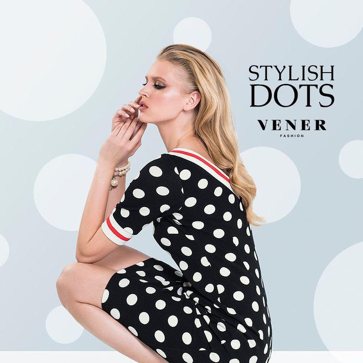 Polka dots για στυλ, πάντα με την ποιότητα VENER! #vener #fashion #stylish #dots