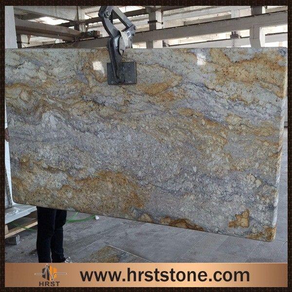 river gold granite slab price