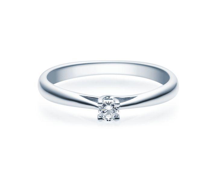 Verlobungsring Silber 0,08 ct. - 0,25ct. TW/SI Verlobungsschmuck ab