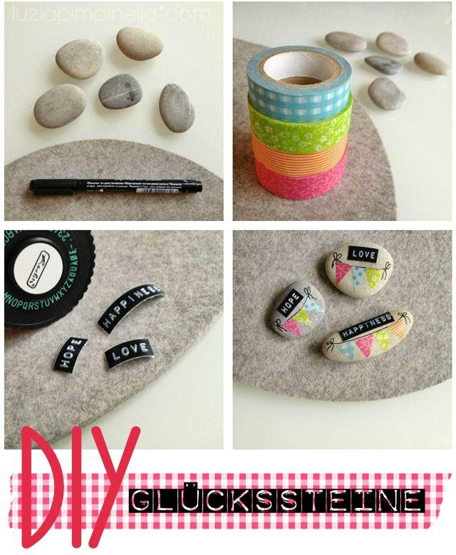 luzia pimpinella: DIY ::: lucky stones