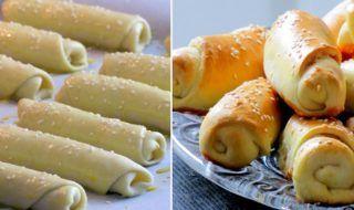 Veľmi rýchle, jemné a hlavne bez čakania na vykysnutie! Na sladko, na slano, bez plnky – sú proste fantastické.  Budeme potrebovať: Cesto: 400 g – hladká múka 1 bal. – prášok do pečiva 180 g – kyslá smotana 1/2 lyžice – maslo alebo olivový olej 1 lyžička – soľ 100 ml – teplé mlieko 1/2 bal. – sušené droždie