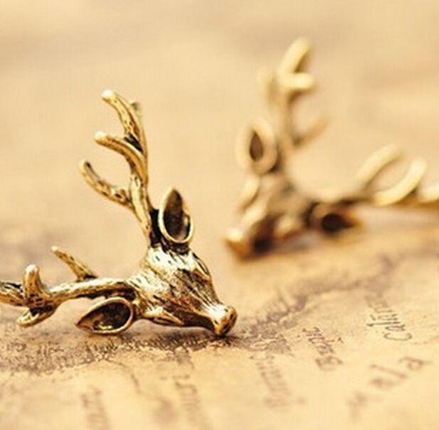 Barato Fd2584 Retro cobre chifre de veado X'mas natal brinco jóias, Compro Qualidade Brinco de brilhante diretamente de fornecedores da China:                                        Bem-vindo à minha loja                                                   &n