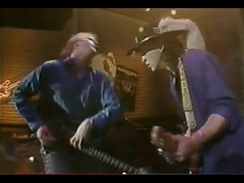 Stevie Ray Vaughan & Jeff Healey - 'Look At Little Sister'