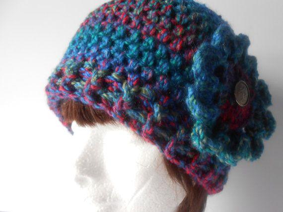Women's Crochet Hat. Boho Crochet Hat. Crochet by AluraCrafts