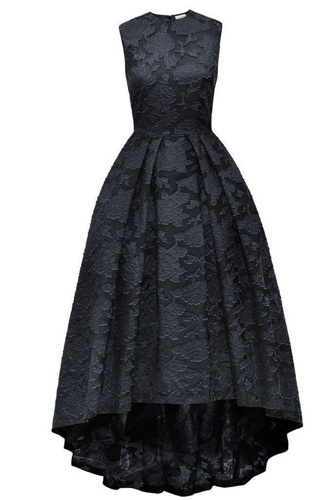 Lace prom dress, ball gown, black lace long evening dress for prom 2017