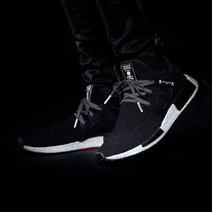 mastermind JAPAN x adidas Originals nmd tubular instinct black white red  skull bones
