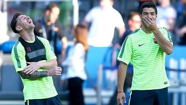 Final Liga Champion 2015 - Barcelona vs Juventus.