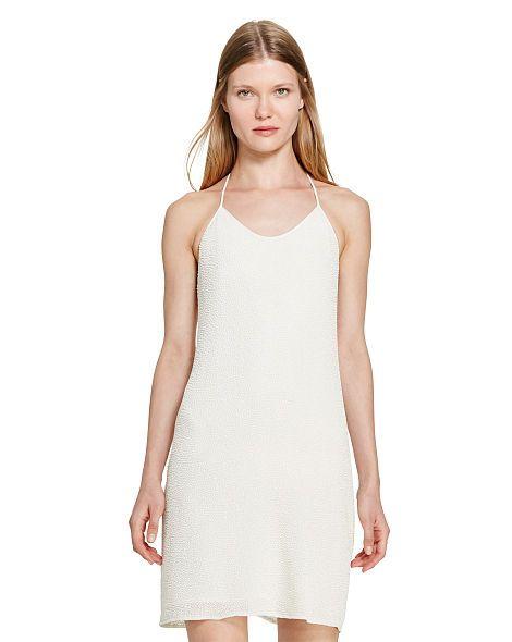 Beaded T-Back Slip Dress - Polo Ralph Lauren Sale - RalphLauren.com
