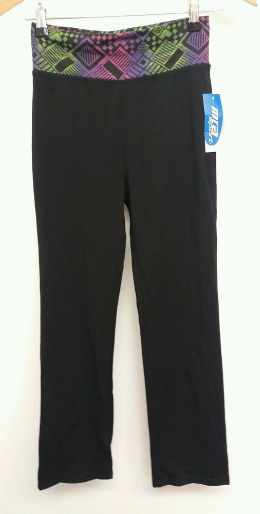 8b4c91ca6f038 MTA Sport Black Trousers Size L Running Sports BNWT <J4171 #fashion # clothing #